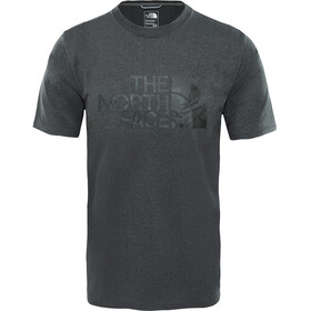 The North Face M's Ma Graphic Reaxion Amp Crew TNF Dark Grey Heather/TNF Black Tnlcm Print
